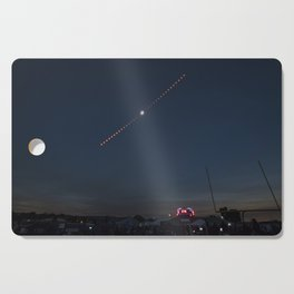 2017 Total Solar Eclipse 2 Cutting Board