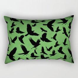 Morrigan's Murder Rectangular Pillow