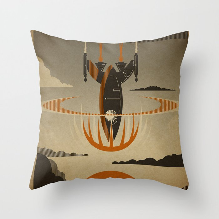The Return Throw Pillow