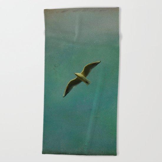 Vintage Flight Beach Towel