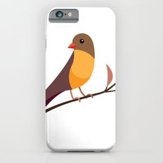 Yellow Breasted Bird iPhone 6s Slim Case
