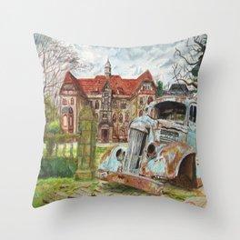 Sanatorium. Throw Pillow