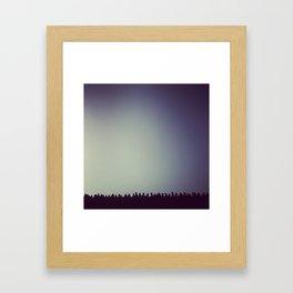 Onlookers Framed Art Print
