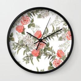 The Master Gardener #PorcelainWhite Wall Clock