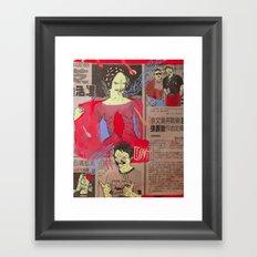 CUNTBOY Framed Art Print