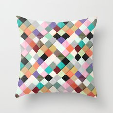 Pass this Pastels Throw Pillow
