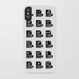 Icons iPhone Case