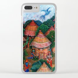 That was my country - Mi país que fue Clear iPhone Case