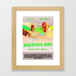 Walter and Jesse Framed Art Print