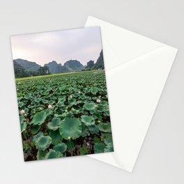 Lotus Flower Pond, Hang Múa, Vietnam Stationery Cards
