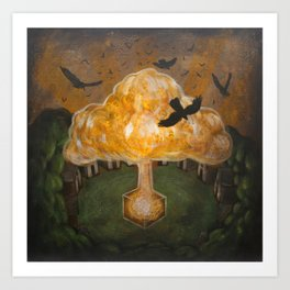 The Tree of the Presence Completes the Forest Art Print