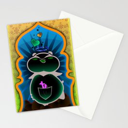Boom Boom's Halo Stationery Cards