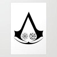 Norse Assassins Art Print