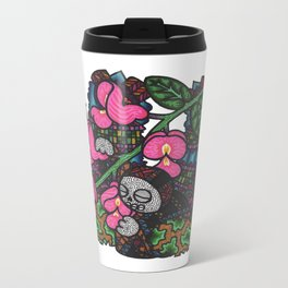 Elegance (Botanical Bliss) Metal Travel Mug