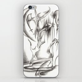 New Moon Melody iPhone Skin
