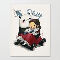 Panda New Year Canvas Print