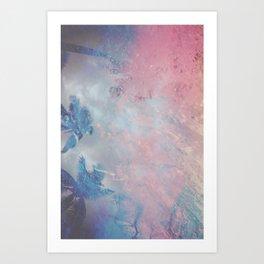 DESERT ICE Art Print