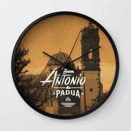 San Antonio de Padua III Wall Clock