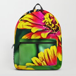 Monarch Butterfly Macro Backpack