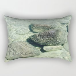 """Peace"" of nature Rectangular Pillow"