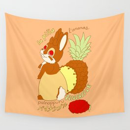 Jackalope and Pineapple Wall Tapestry