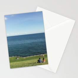 Summer Love Dating with Amazing Lake View at Toronto Urban Beach   Travel Photography Stationery Cards