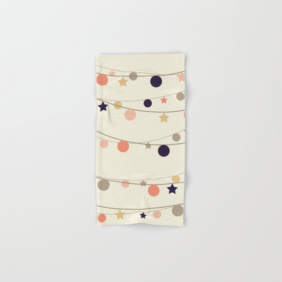 Christmas Garlands Hand & Bath Towel