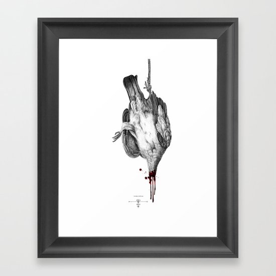 Voodoo Birds Framed Art Print