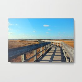 A Long Walk To The End Metal Print