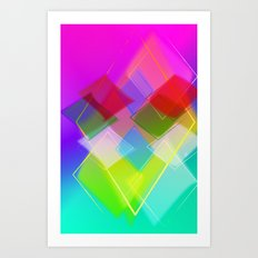 Topaz Art Print