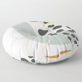 Abstract Geometry 44 Floor Pillow
