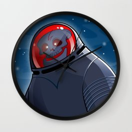 Kooky Space Kook Wall Clock