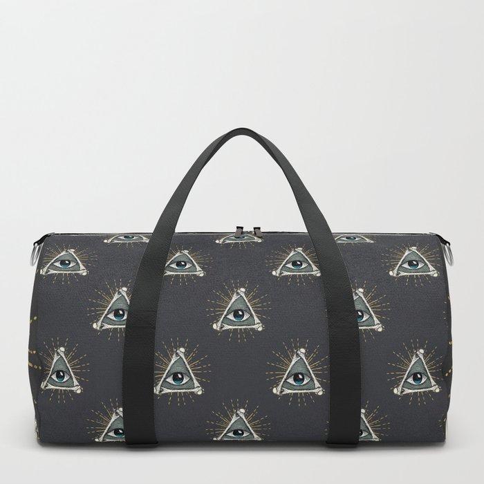 All seeing eye of God Duffle Bag