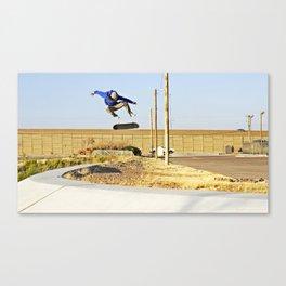 Kickflip Canvas Print