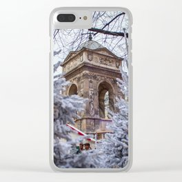 Fontaine des Innocents Clear iPhone Case