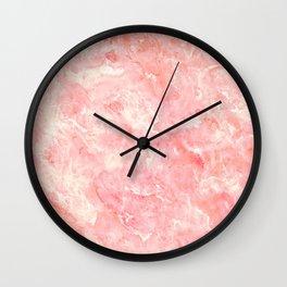 Art Deco Pink Wall Clock