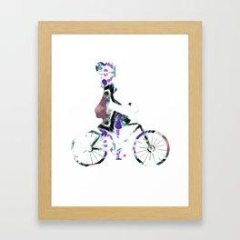 Cycling 362 Framed Art Print