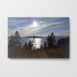 Keep Tahoe Blue and Beautiful Metal Print