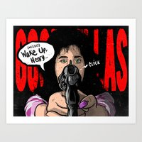 goodfellas Art Prints featuring Not Without Your Car Keys by SHINEBOX