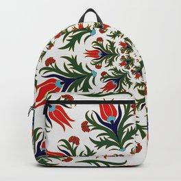 Turkish tulip - Ottoman tile 1 Backpack