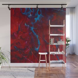 Inflamed Wall Mural
