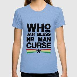 Who Jah Bless Women_s jamaican T-shirt