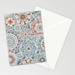 Beachy Boho Chic Mandalas Stationery Cards