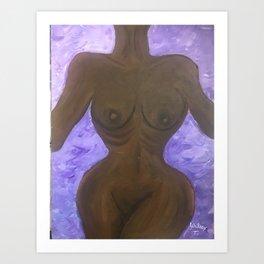 The Misunderstood Body Art Print