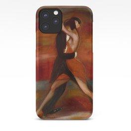 Last Tango in Paris, France Dance portrait iPhone Case