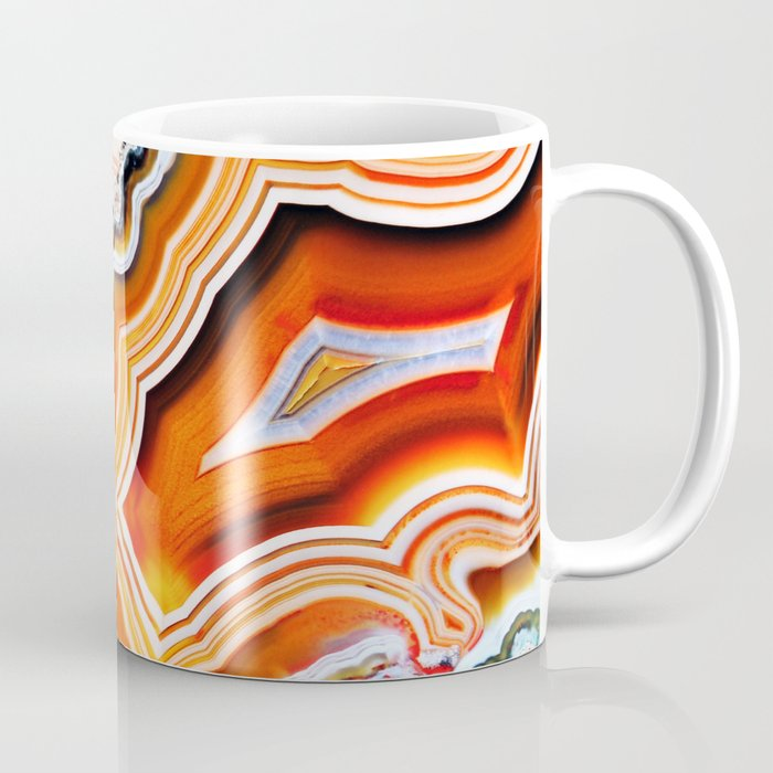 The Vivid Imagination of Nature, Layers of Agate Coffee Mug