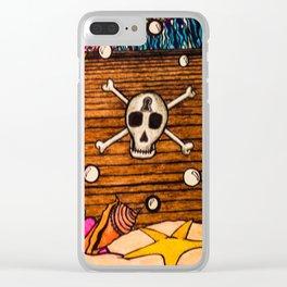 Forgotten Treasures Clear iPhone Case
