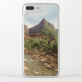Zion Watchman Clear iPhone Case
