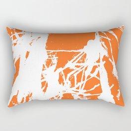 Orange Base Rectangular Pillow