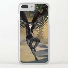 Point of Attack Clear iPhone Case